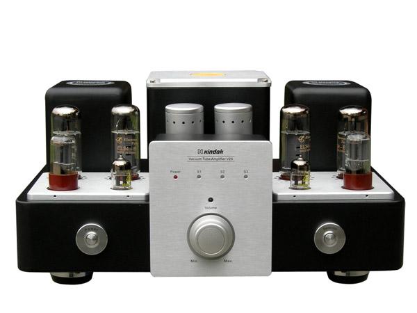放大器采用经典成熟的线路,配以量身定做的ei型输出变压器使el34电子