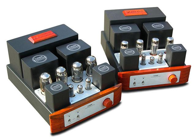 由于使用了el84单端甲类全平衡变压器倒相式推动电路
