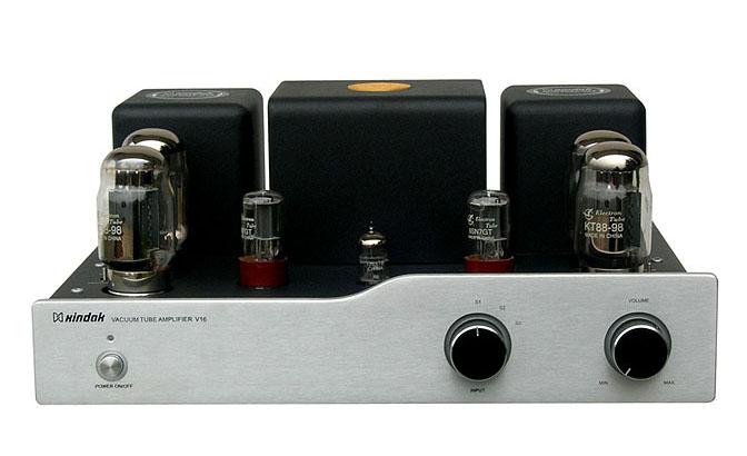 电路,后级部分采用音频放大器专用电子管kt88/(6550)
